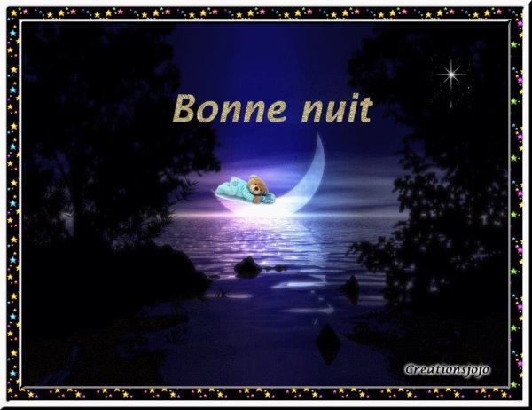 belle et douce nuit doux reve mes amies