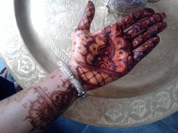 couleur de mon henna.(henné pakistan)
