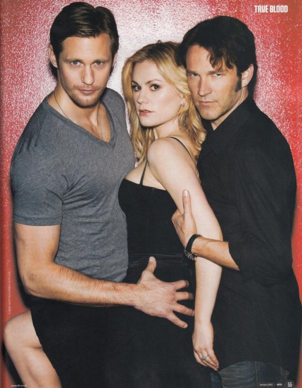 0 Le cast de True Blood figurant dans le magazine SFX de Janvier 2012 ! ENJOY 0