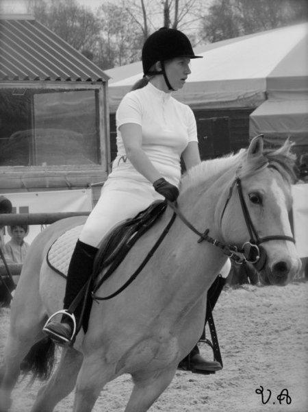 concours avec mon petit poney chéri!!!
