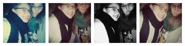C'est une amie différente de toute les autres est c'est bien pour cà que je t'aime. ♥