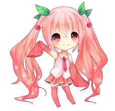 miku sakura mais cette fois chibi !!!