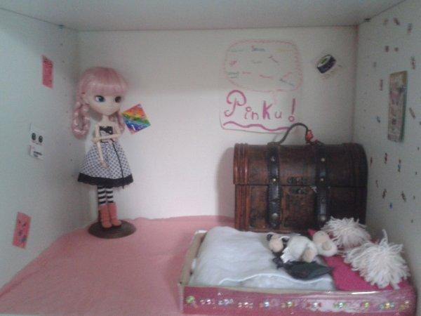 new chambre de ma pullip !