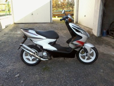 Voici mon scooter
