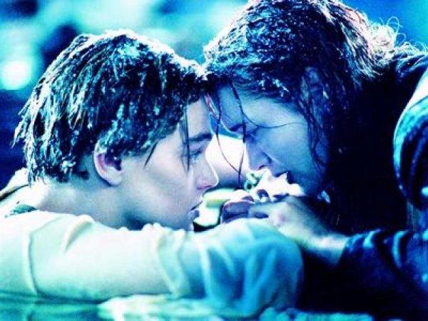 Le Titanic, la preuve que même les plus belles histoires d'amour tombent à l'eau.