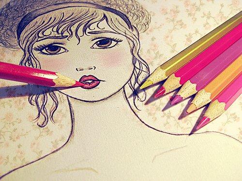 # # # Tes lèvres ont la texture du papier glacé.______ # #