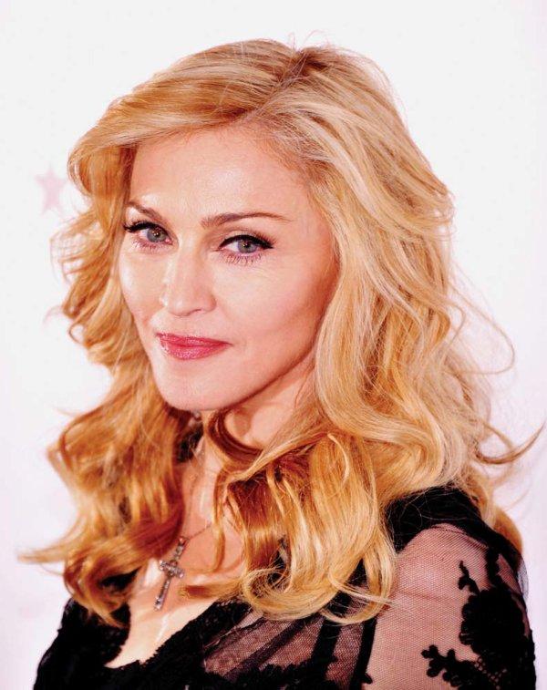 Gros plan sur ... Madonna