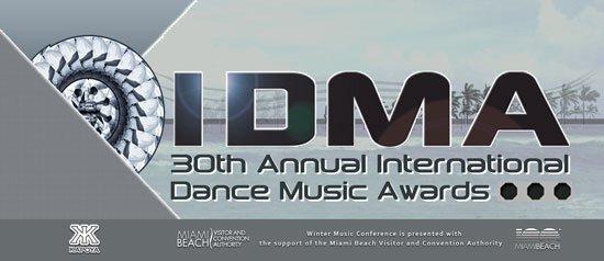 La remise de prix évènement : Les IDMA Awards 2015