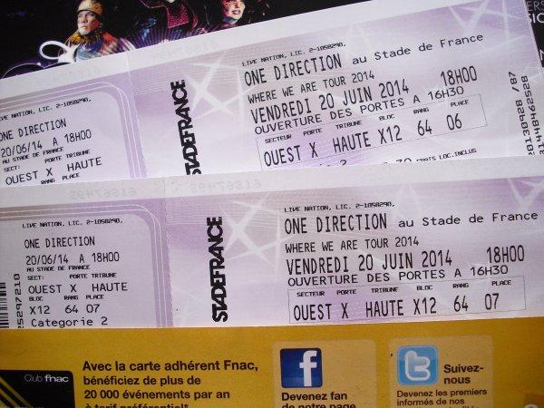 1D Le 20 Juin 2014 !