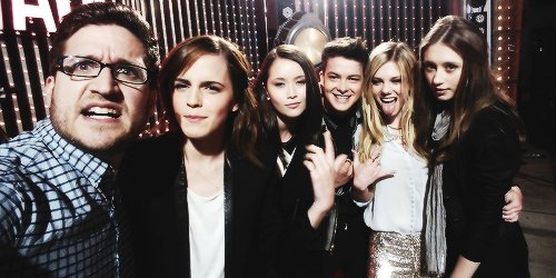.MTV news with Emma Watson. The Bling Ring.