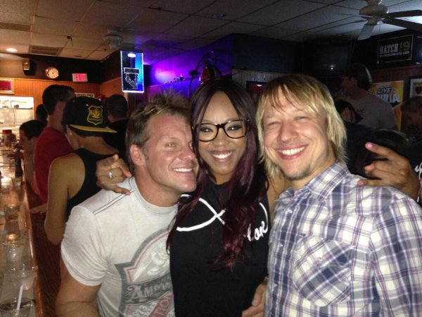 Chris Jericho and Alicia Fox