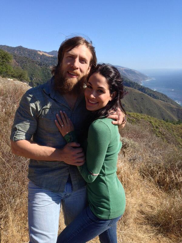 Daniel Bryan et Brie Bella