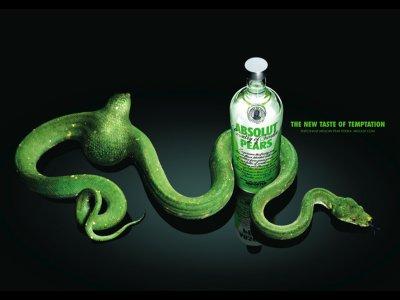 Publicité pour de la boisson alcoolisée