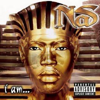 """Pochette de l'album """"i am"""" du rappeur NaS"""