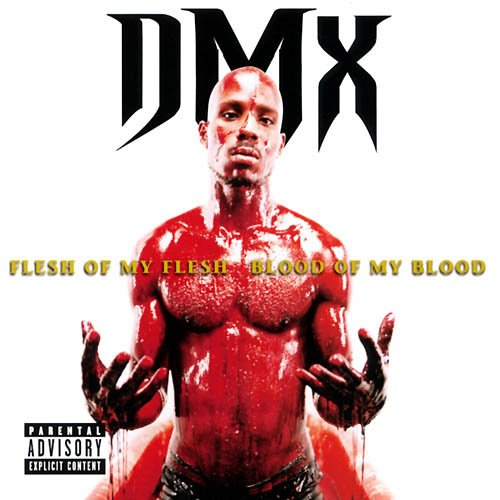 "Pochette d'album ""flesh of my flesh blood of my blood"" du rappeur DMX"