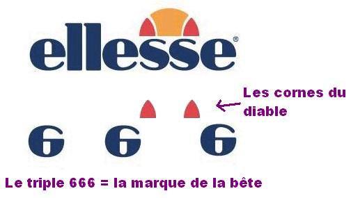 Le logo de la marque ELLESSE