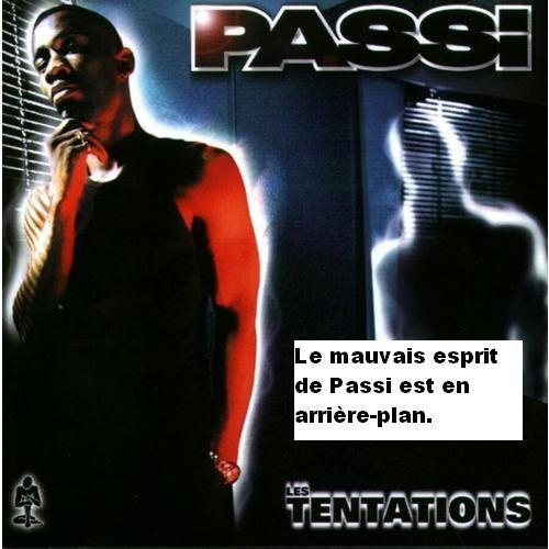 "Pochette de l'album ""Les tentations"" de Passi"