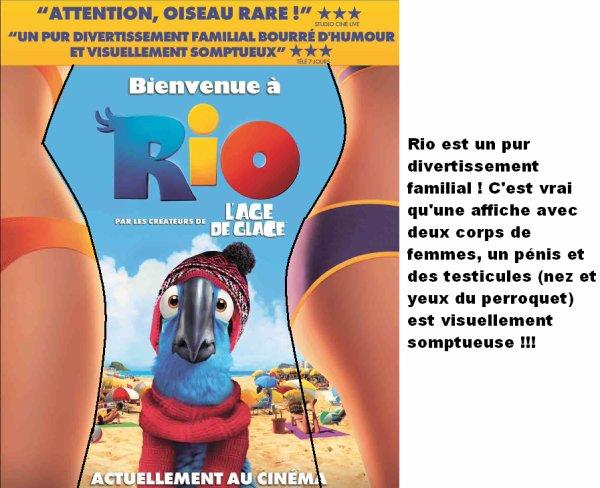 Le film : RIO, sorti le 13 avril 2011