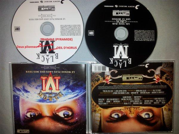 Pochette Album - Black M - Le monde plus gros que mes yeux (Edition deluxe) - novembre 2014