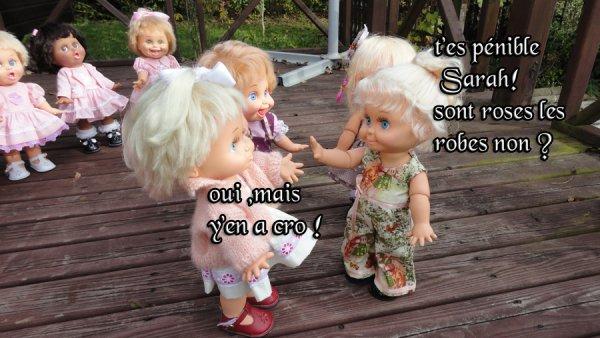 sarah et la robe rose suite