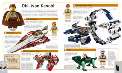 Un coup d'oeil dans le Star Wars LEGO Dictionnaire Visuel