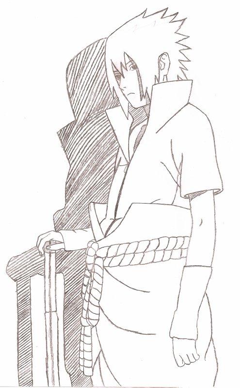 Dessin de moi sasuke shippuden actu naruto images - Dessin naruto et sasuke ...
