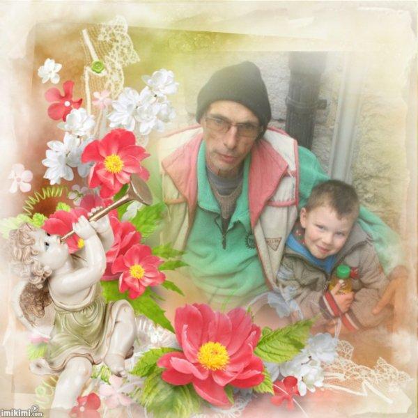 mon papy et moi