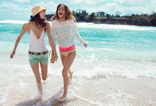 L'été , les vacances , la plage , le shopping , le soleil , les bronzettes