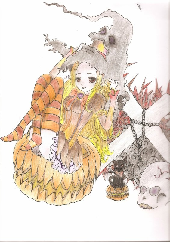 Dessin Concours Platine-Chan #♥~♥#