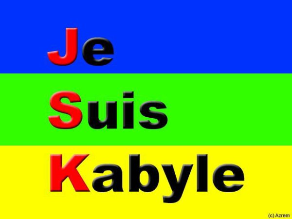 je suis kabyle