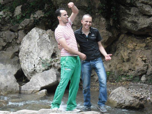 moi et mon ami a zyama a jijel