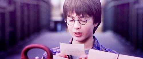 Harry Potter à l'école des sorciers.