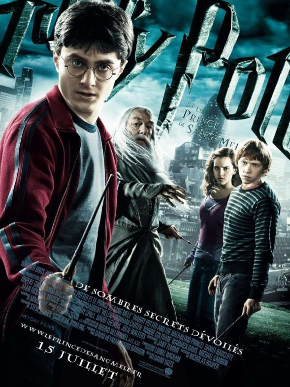 Harry Potter et le prince de sang-mêlé.