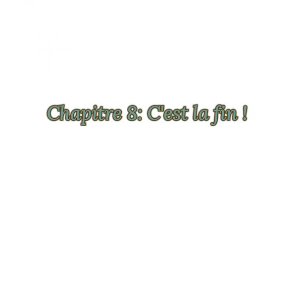 Fiction 1 chapitre 8 (la fin) : C'est la fin !!