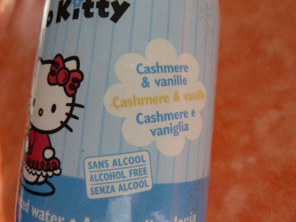 Eau de senteur Vanille et Cashmere