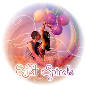 ♦ Effet Spirale (not gif) ♦