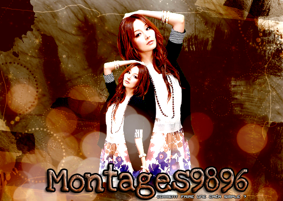 ♦ Faire un montage simple ♦ Effet 100% by Montages9896 ! Plagiat interdit !
