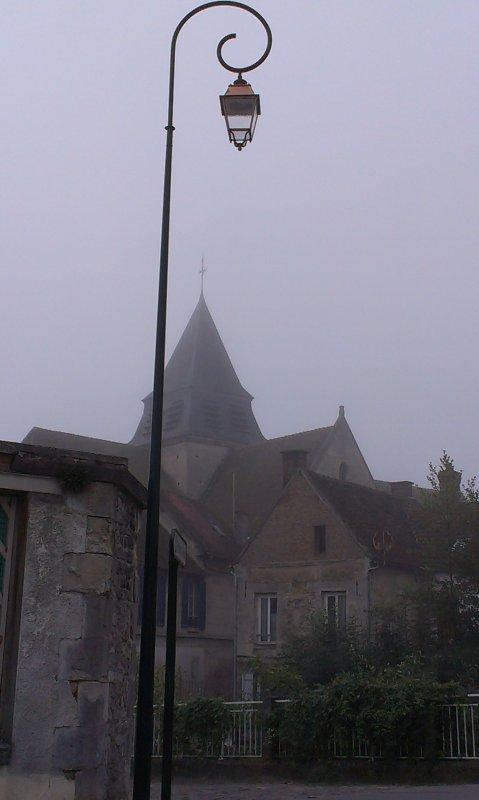 Le parc un jour brumeux 3