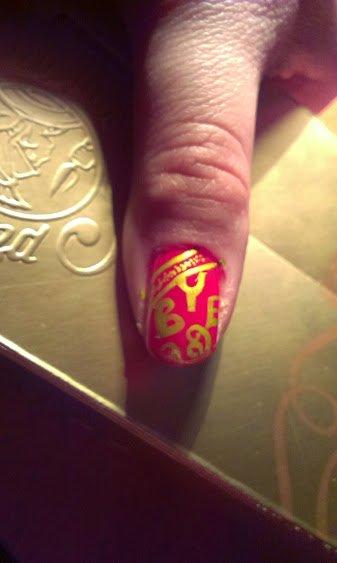 Nail Art Fêtes 2015