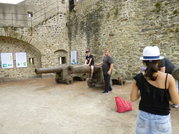 Visite du chateau de Noirmoutiers