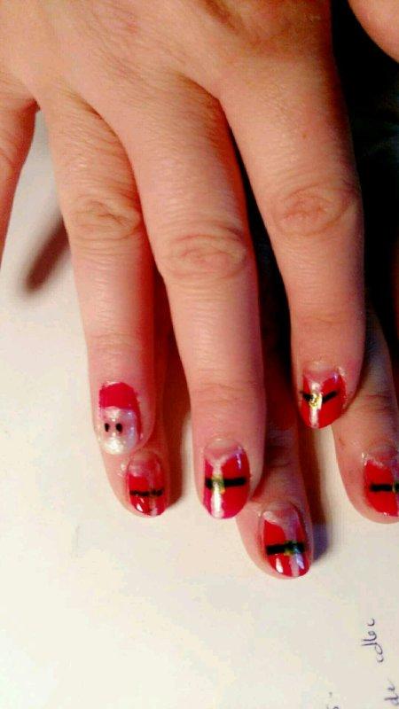 Nails art Noël 2016
