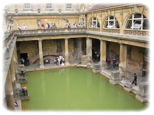 les bains romains (angleterre)