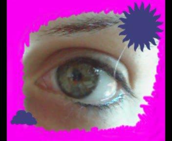 mon oeil lol