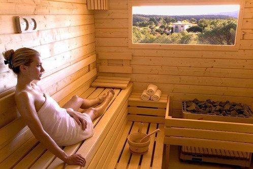 le sauna !!!