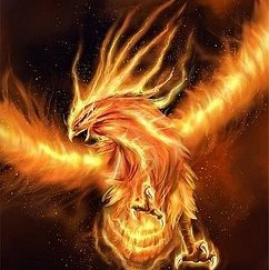 le phoenix l oiseau qui renait de ces cendres