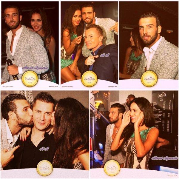 ~• Samedi 28 Septembre: Aymeric et Leïla au Baïa Club, à Nemours (77) - Photos •~