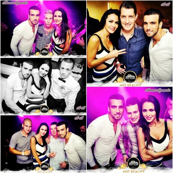 ~• Samedi 4 Octobre: Aymeric et Leïla au Hiit Club, en Belgique (Hainaut) - Photos •~