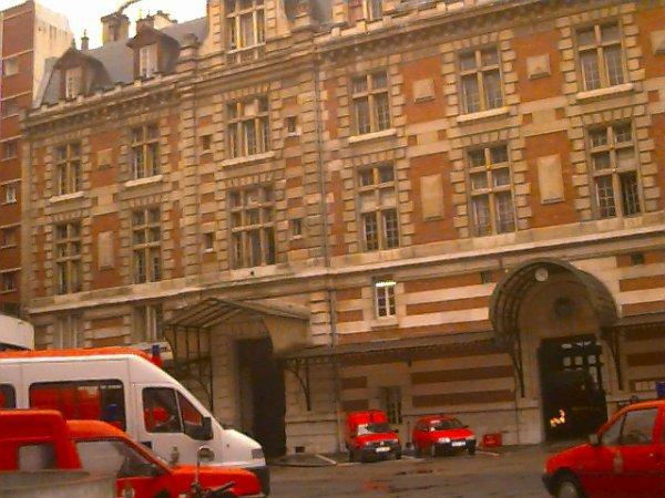 POMPIERS DE PARIS : LA 9e COMPAGNIE