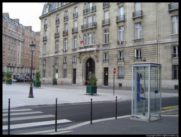 CASERNES DES POMPIERS DE PARIS : LA 5e COMPAGNIE
