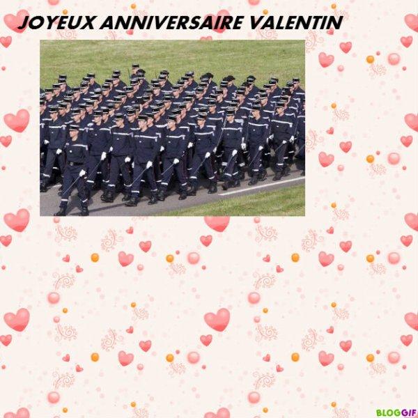 POUR MON CHER AMI VALENTIN : JOYEUX ANNIVERSAIRE